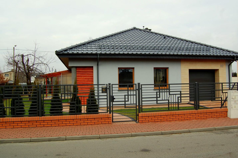 Elewacja domu jednorodzinnego - Warnenczyków